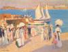 The Quay at Dinard by Ethel Carrick Fox