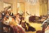 The Concert by James Jacques Joseph Tissot