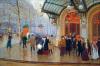 Theatre de Vaudeville by Jean Beraud