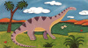 Dippy the Diplodocus by Sophie Harding