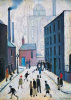 Industrial Scene, 1953 by L S Lowry
