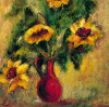 Fleurs D' Automne I by Tina