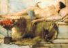 In the tepidarium by Sir Lawrence Alma-Tadema