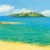 Aquamarine III by Hazel Barker