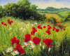 Sunlit Meadow by Mary Dipnall