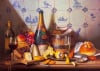 Delft Tiles and Fine Champagne by Raymond Campbell
