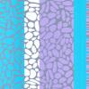 Pebble Shore  (Silkscreen print) by Denise Duplock