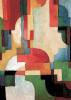 Farbige Formen 1 by August Macke
