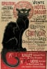 Collection du Chat Noir (small) by Theophile-Alexandre Steinlen
