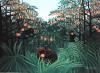 The Tropics by Henri Rousseau