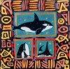 Orcas by Simon Bull