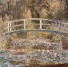 Waterlily Pond and Bridge by Claude Monet