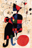 People and Dog by Joan Miro