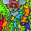 Andy Mouse II (1986) by Keith Haring
