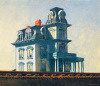 House by the Railroad, 1925 by Edward Hopper