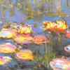 Water Lilies (Detail) by Claude Monet