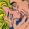 Kiss V by Roy Lichtenstein