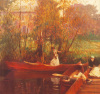 A Boating Party by John Singer Sargent