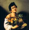 Boy with a Basket of Fruit by Michelangelo Merisi da Caravaggio