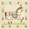 Festival Horse I by Silk Road Series