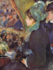 At the Theatre (La Premiere Sortie) by Pierre Auguste Renoir