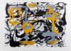 Yellow, Gray, Black, 1948 by Jackson Pollock