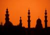 Cairo minarets at sunset by Roland Marske