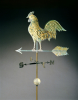 Molded And Gilt Copper Weathervane by American School