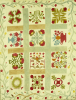 An Appliqued And Stuffed Cotton Quilted Coverlet. American by Christie's Images