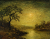 Moonlit Landscape by Ralph Albert Blakelock