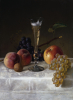 Still Life With Glass Of Champagne by Milne Ramsey