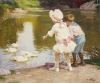 In The Park by Edward Henry Potthast