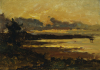 Sunset At Manchester, Massachusetts, From Sandy Hollow by Willard Leroy Metcalf