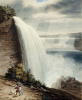 Niagara Falls; Part Of The American Fall by William James Bennett
