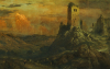 Mediterranean Castle by Frederic Edwin Church