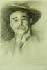 Portrait Of Ramacho Ortigao, 1903. by John Singer Sargent