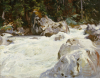 A Torrent In Norway, 1901. by John Singer Sargent
