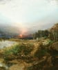 Sunset On The Maine Coast by William Louis Sonntag