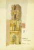 Palermo, Campanile Martorana by Charles Rennie Mackintosh