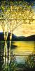 Landscape Lake Window by Tiffany Studios