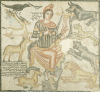 A Roman Marble Mosaic Depicting Orpheus, 204 A.D. by Christie's Images