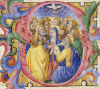 Pentecost, Ca.1490. by Christie's Images