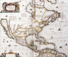 Map Of North America, 1641 by Joannes Janssonius