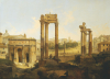 The Forum, Rome by Jean Victor Louis Faure