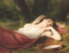 The Daydream. La Reverie by Fritz Zuber-Buhler