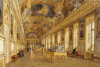 The Interior Of The Louvre; The Galerie d'Apollon by Victor Duval