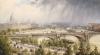 St Paul's From Waterloo Bridge by Auguste Ballin