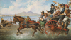The Crowded Chariot by Consalve Carelli