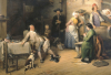 Pris en Plein Sieste, 1842 by Jean-Baptiste Madou