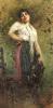An Italian Fisherwoman by Egisto Lancerotto